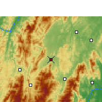 Nearby Forecast Locations - Wugang - Mapa