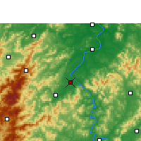 Nearby Forecast Locations - Wan'an - Mapa