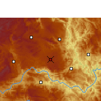 Nearby Forecast Locations - Anlong - Mapa