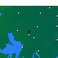 Nearby Forecast Locations - Huaiyin Xian - Mapa