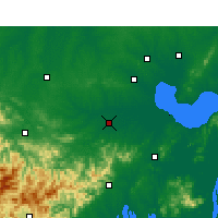 Nearby Forecast Locations - Shucheng - Mapa