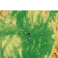 Nearby Forecast Locations - Shatang - Mapa