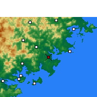 Nearby Forecast Locations - Jinjiang - Mapa