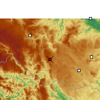 Nearby Forecast Locations - Napo - Mapa