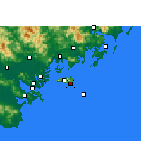 Nearby Forecast Locations - Yunao - Mapa