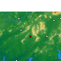 Nearby Forecast Locations - Pubei - Mapa