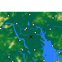 Nearby Forecast Locations - Shunde - Mapa