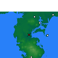 Nearby Forecast Locations - Haikang - Mapa