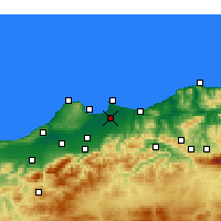 Nearby Forecast Locations - Argel - Mapa