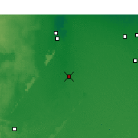 Nearby Forecast Locations - Touggourt - Mapa