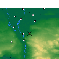 Nearby Forecast Locations - Cairo - Mapa