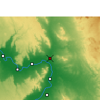 Nearby Forecast Locations - Qina - Mapa