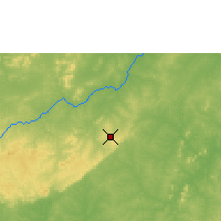 Nearby Forecast Locations - Bobo Dioulasso - Mapa