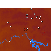 Nearby Forecast Locations - Vereeniging - Mapa