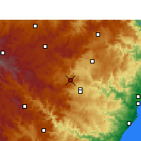 Nearby Forecast Locations - Cedara - Mapa