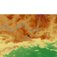Nearby Forecast Locations - Santa Elena de Uairén - Mapa
