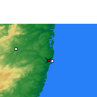 Nearby Forecast Locations - Recife - Mapa