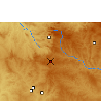 Nearby Forecast Locations - Anápolis - Mapa