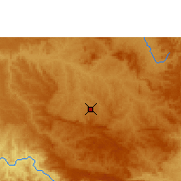 Nearby Forecast Locations - Araxá - Mapa