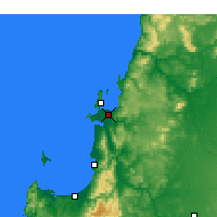 Nearby Forecast Locations - Concepción - Mapa