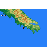 Nearby Forecast Locations - Nouméa - Mapa