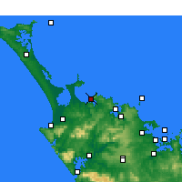 Nearby Forecast Locations - Taipa-Mangonui - Mapa