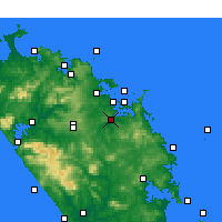 Nearby Forecast Locations - Kawakawa - Mapa