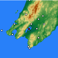 Nearby Forecast Locations - Lake Wairarapa - Mapa