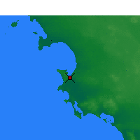 Nearby Forecast Locations - Streaky Bay - Mapa