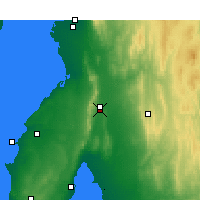 Nearby Forecast Locations - Snowtown - Mapa