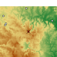 Nearby Forecast Locations - Nullo Mount. - Mapa