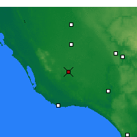 Nearby Forecast Locations - Mount Gambier - Mapa