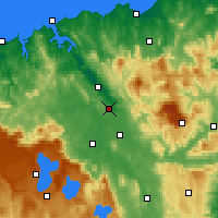 Nearby Forecast Locations - Launceston - Mapa
