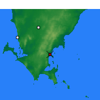Nearby Forecast Locations - Port Lincoln - Mapa