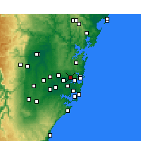 Nearby Forecast Locations - Riverview - Mapa