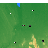 Nearby Forecast Locations - Horsham - Mapa