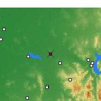 Nearby Forecast Locations - Corowa - Mapa