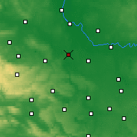 Nearby Forecast Locations - Bernburg - Mapa