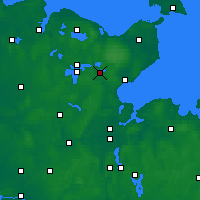 Nearby Forecast Locations - Eutin - Mapa