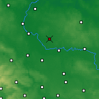 Nearby Forecast Locations - Zerbst - Mapa