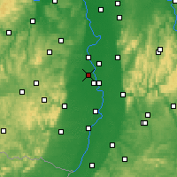 Nearby Forecast Locations - Frankenthal - Mapa