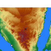 Nearby Forecast Locations - Saint Catherine - Mapa