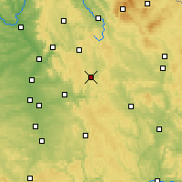 Nearby Forecast Locations - Velden - Mapa