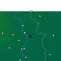 Nearby Forecast Locations - Ranaghat - Mapa
