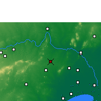 Nearby Forecast Locations - Sattenapalle - Mapa