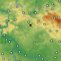 Nearby Forecast Locations - Stráž pod Ralskem - Mapa