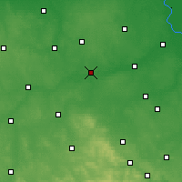 Nearby Forecast Locations - Nowe Miasto nad Pilicą - Mapa