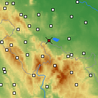 Nearby Forecast Locations - Paczków - Mapa