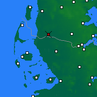 Nearby Forecast Locations - Tønder - Mapa