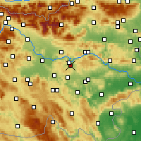 Nearby Forecast Locations - Šmartno pri Litiji - Mapa